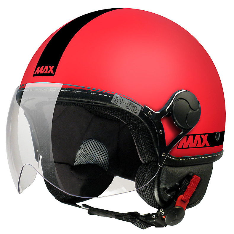 Casco Max Power Corallo opaco-Nero MAX - Helmets