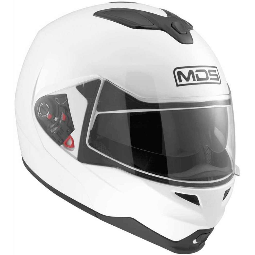 Casco Md200 Solid bianco Mds
