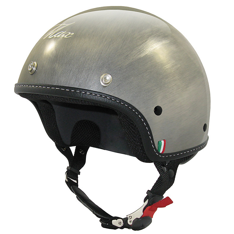 Casco Mini Scratch Argento MAX - Helmets