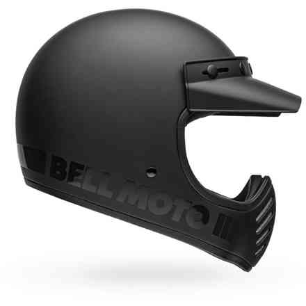 Casco Moto-3 Blackout Matte/Gloss Nero Bell