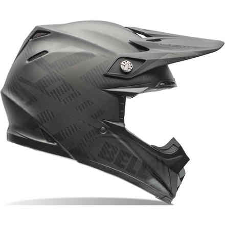 Casco Moto 9 Flex Syndrome Nero Opaco Bell