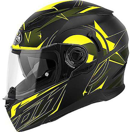 Casco Movement Mesh giallo Airoh