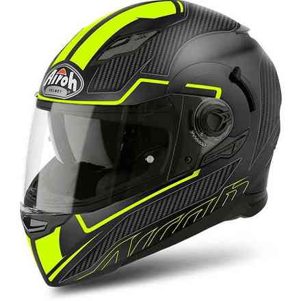 Casco Movement S Faster giallo opaco Airoh