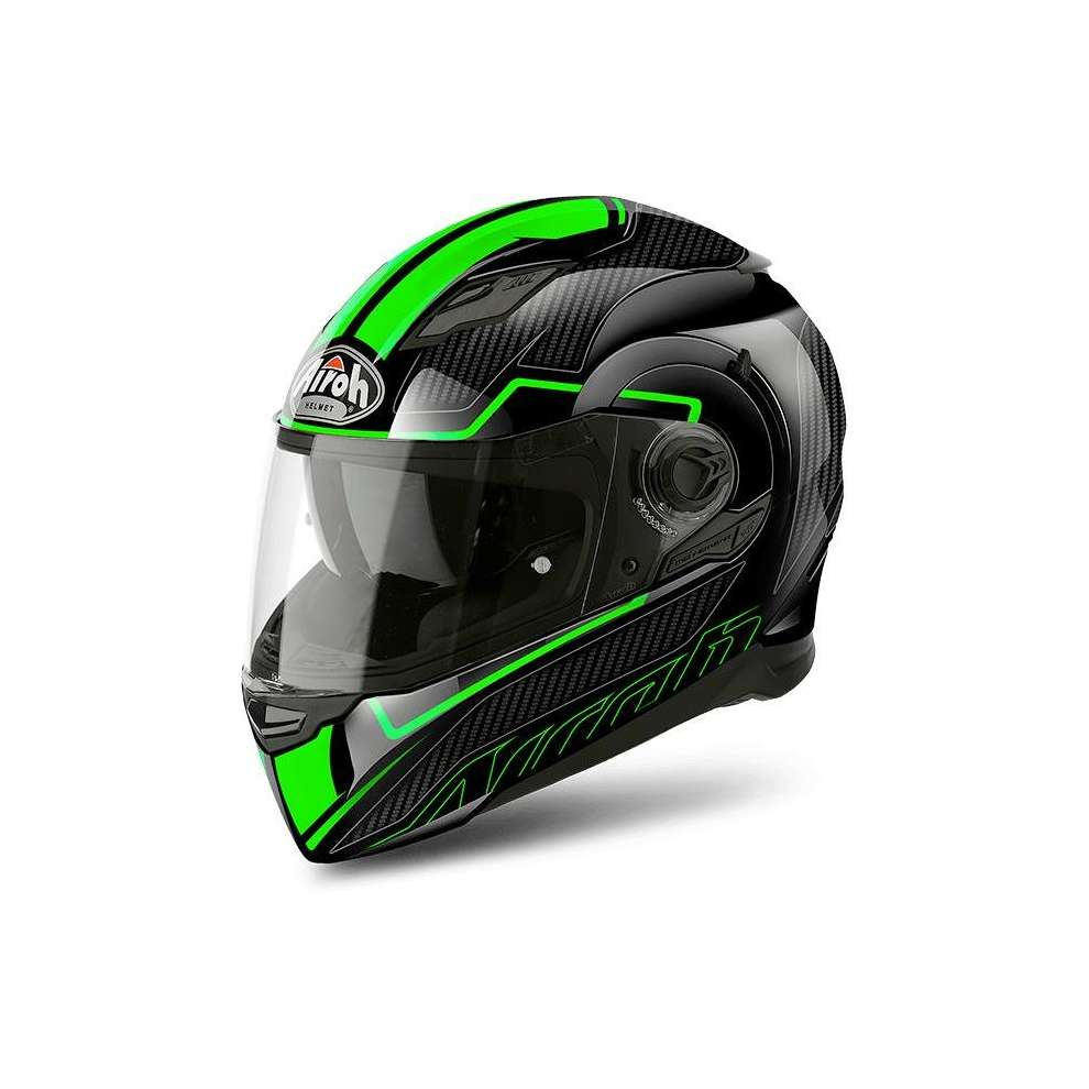Casco Movement S Faster verde Airoh