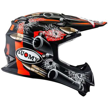 Casco Mr Jump Bullet nero opaco Suomy