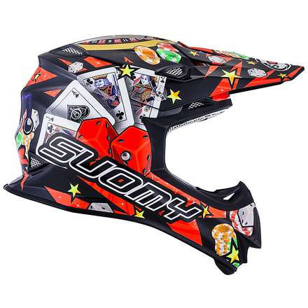 Casco Mr Jump Jackpot nero Suomy