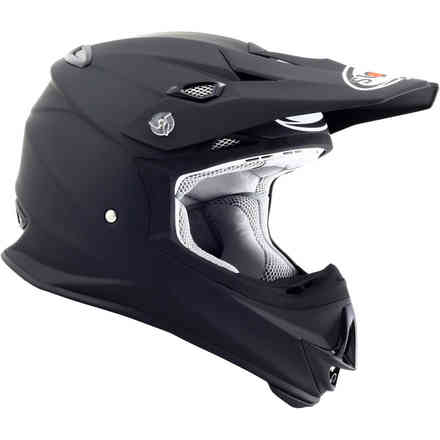 Casco Mr Jump Plain Matt Schwarz Suomy