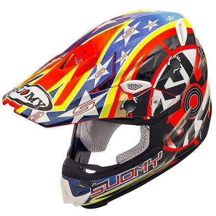 Casco Mr Jump Shots orange Suomy