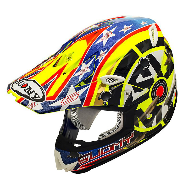 Casco Mr Jump Shots yellow Suomy