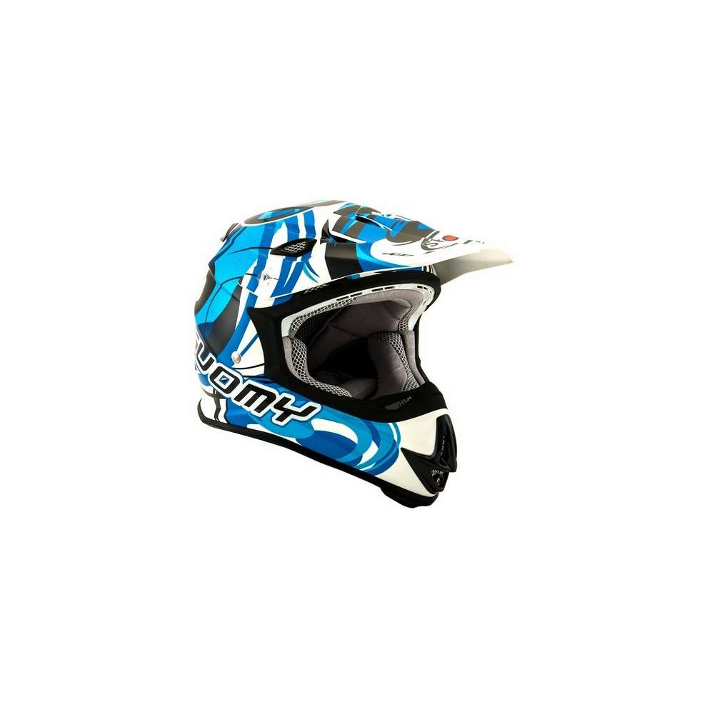 Casco Mr Jump Vortice Blu Suomy