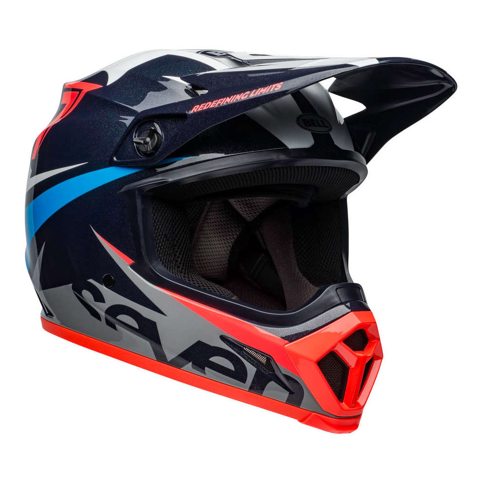 Casco Mx-9 Mips Seven Ignite Navy Coral Bell