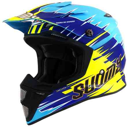 Casco Mx Speed Warp Blu Suomy