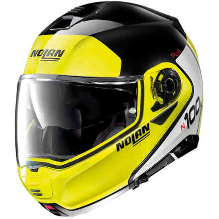 Casco N100-5 P Distinctive Glossy Black Nolan