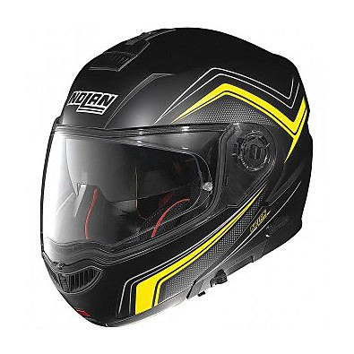 Casco N104 Absolute Como N-Com flat black Nolan