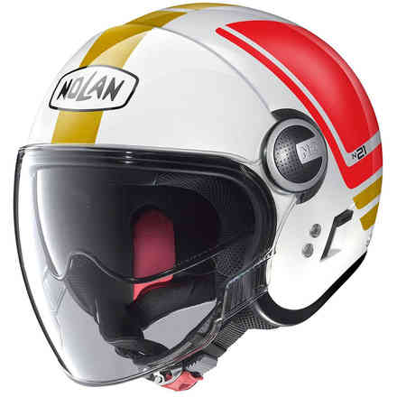 Casco N21 Visor Flybridge tricolore Nolan