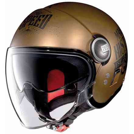 Casco N21 Visor Motogp Legends Scratched Flat Copper Nolan