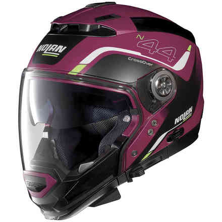 Casco N44 Evo Viewpoint N-Com Fucsia Kiss Nolan