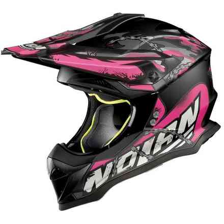 Casco N53 No Entry pink Nolan