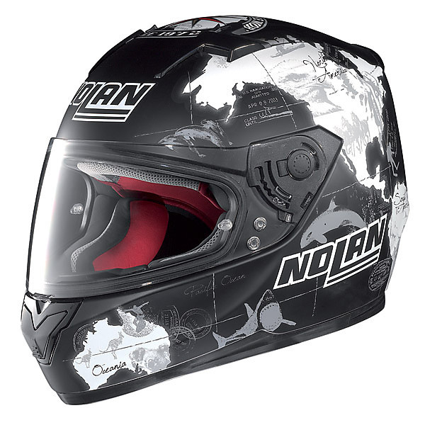 Casco N64 Gemini Replica C.Checa Nero Nolan