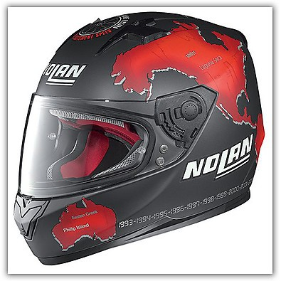 Casco N64 Gemini Replica C.Checa  Nolan