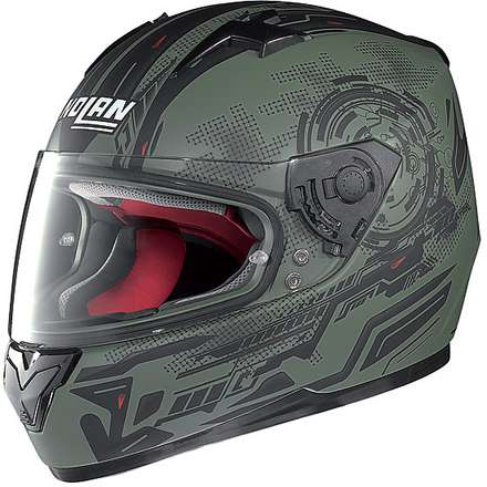 Casco N64 Next Flat Military Green Nolan