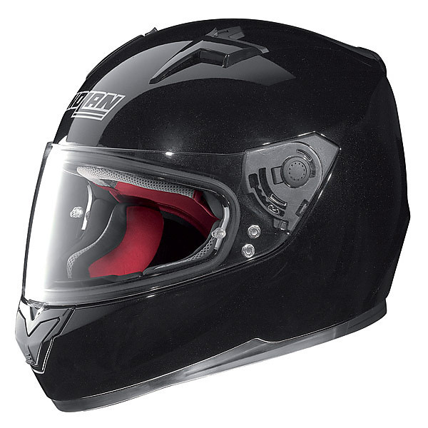 Casco N64 Smart Nero Lucido Nolan