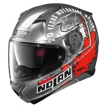 Casco N87 Iconic Replica C.Checa scratched Nolan