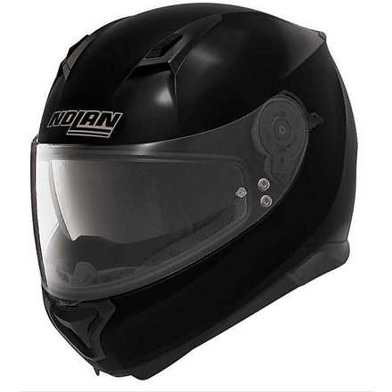 Casco N87 Special Plus N-com metal nero  Nolan