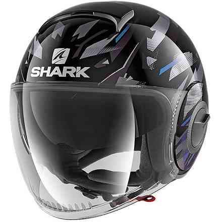 Casco Nano Kanhji  Shark
