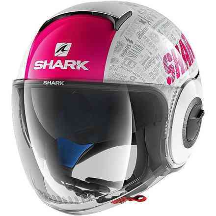 Casco Nano Tribute Rm Shark