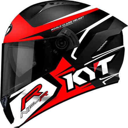 Casco Nf-R Track Rosso KYT