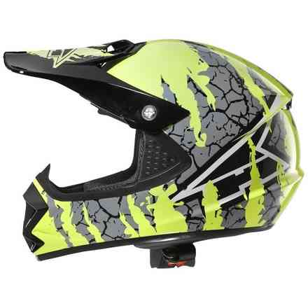 Casco Ninja Jr Yellow Axo