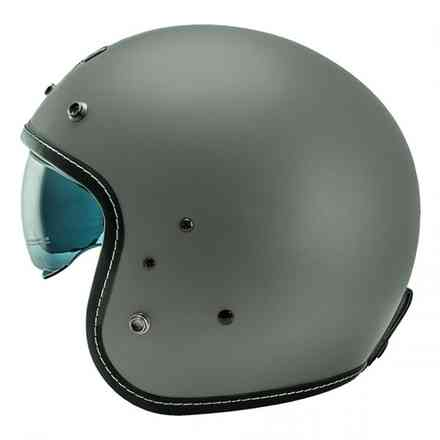 Casco Nos Ns-1 Open Face Seal Grigio Opaco NOS