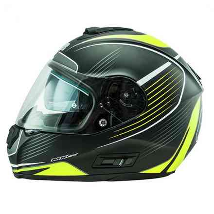 Casco Nos Ns-6 Typhoon Giallo NOS