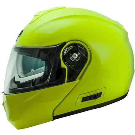 Casco Nos Ns-8 Flip Up Fluor Giallo NOS
