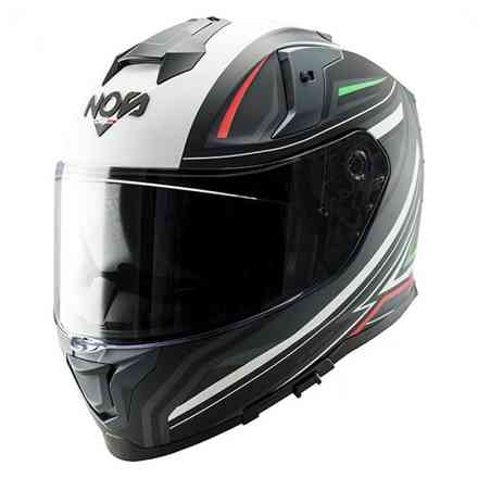 Casco Ns-10 Full Face Fastback Italy Matt NOS