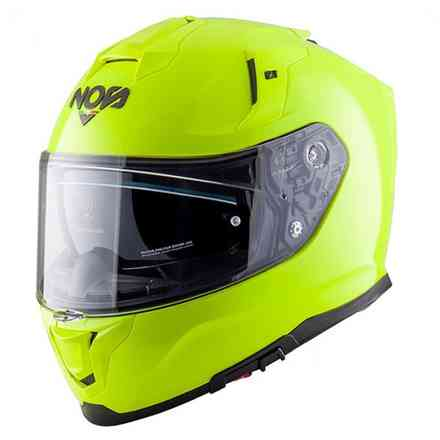Casco Ns-10 Full Face Fluo Giallo NOS