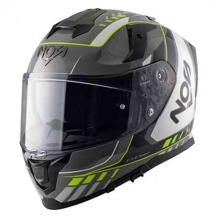 Casco Ns-10 Full Face Mig Fluo Giallo NOS
