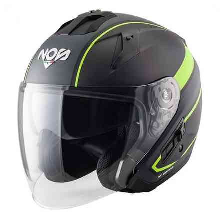 Casco Ns-2 Jet Sting Giallo Opaco NOS