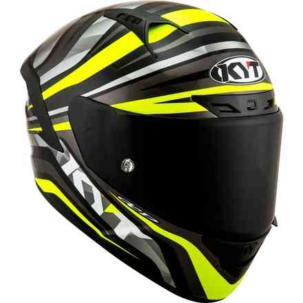 Casco Nx Race Mood Giallo Fluo KYT