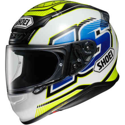 Casco Nxr Cluzel Tc-3 Shoei