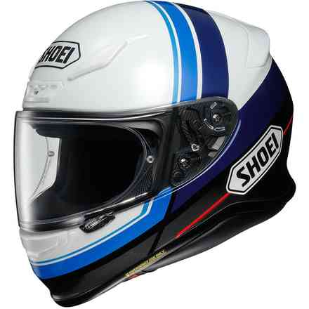 Casco Nxr Philosopher Tc-2 Blue Shoei