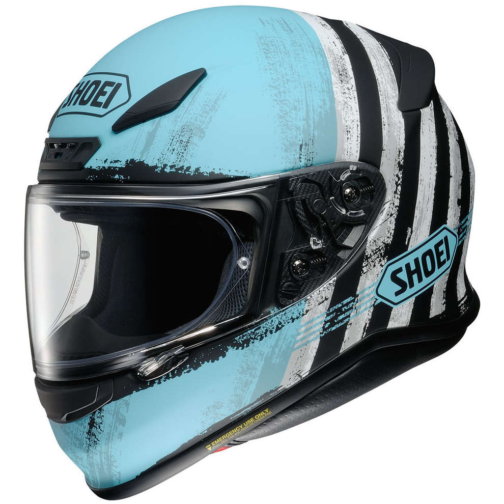 Casco Nxr Shorebreak Blu Shoei