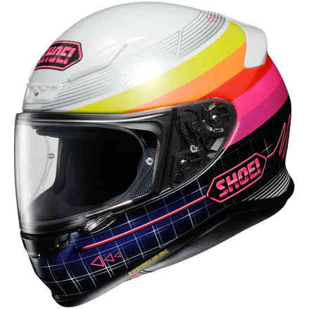 Casco Nxr Zork Rosa Shoei