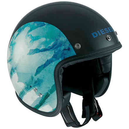 Casco Old-jack Multi Oj 1 nero blu Diesel