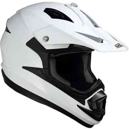 Casco Onoff Solid bianco Mds