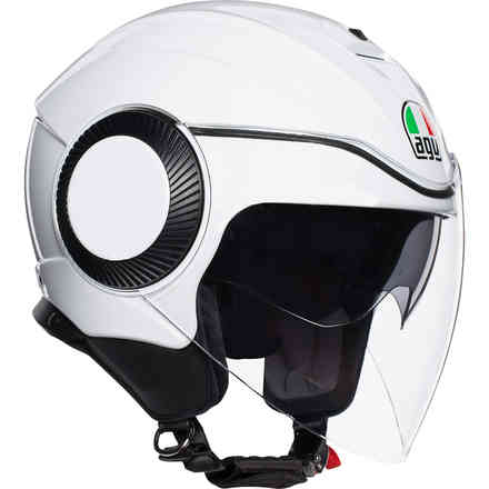Casco Orbyt Solid bianco lucido Agv