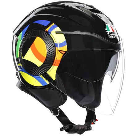 Casco Orbyt Top Sun e Moon 46  Agv