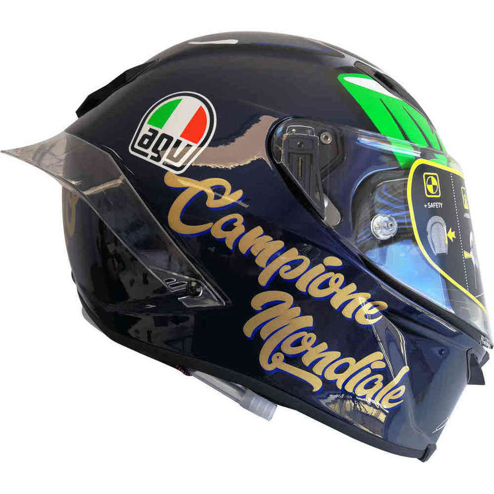 Casco Pista Gp Morbidelli 2017 w. CHAMPION Agv