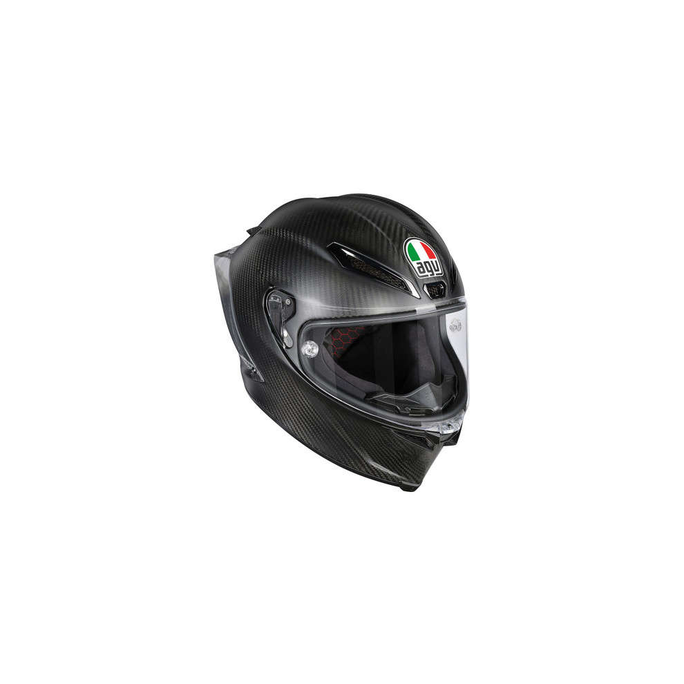 Casco Pista Gp R Agv Dot (Ece) Carbon Matt Agv